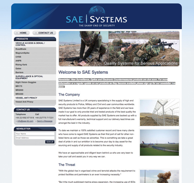 SAE Systems Web