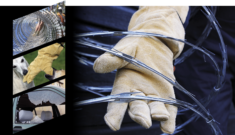 Razorpro Heavy Duty Puncture Resistant Safety Gloves and Body Protection PPE for Razor Wire
