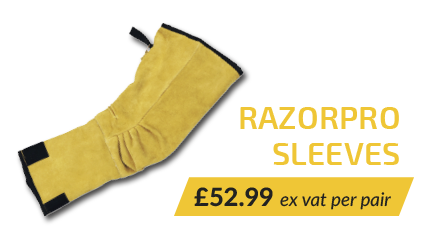 Razorpro Heavy Duty Puncture Resistant Arm Protection PPE